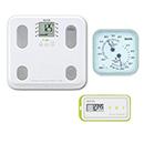 【温湿度計付き】通信対応 体組成計BC-508・活動量計AM-150(グリーン)セット