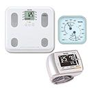 【温湿度計付き】通信対応 体組成計BC-508・血圧計BP-302 セット