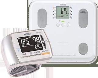 体組成計BC508+血圧計BP302