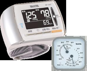 血圧計BP302+温湿度計TT-507