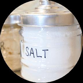 毎日の塩分摂取はほどほどに!