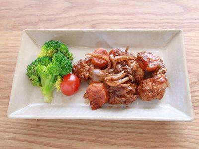 鶏肉のバルサミコ煮込み