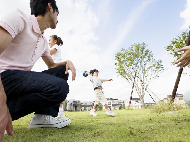子供とスポーツ(イメージ)