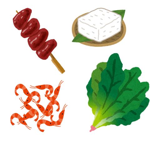 鉄分を多く含む食品(イメージ)