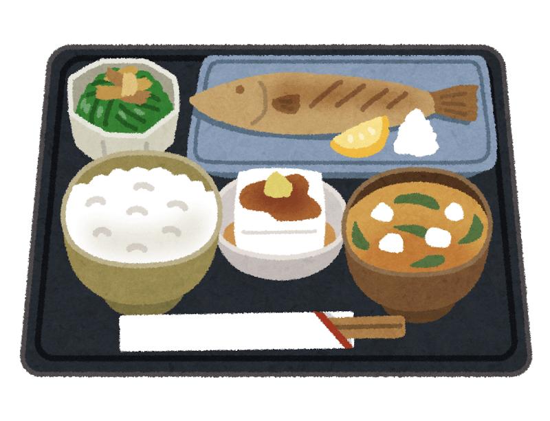 バランスの良い食事(イメージ)
