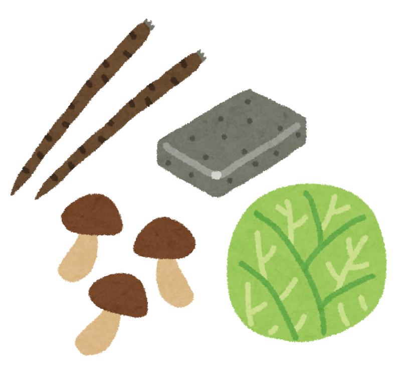 食物繊維が多い食物(イメージ)