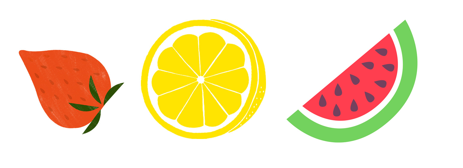 いちご スイカ グレ-プフルーツ